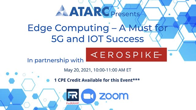 ATARC: Edge Computing – A Must for 5G and IOT Success