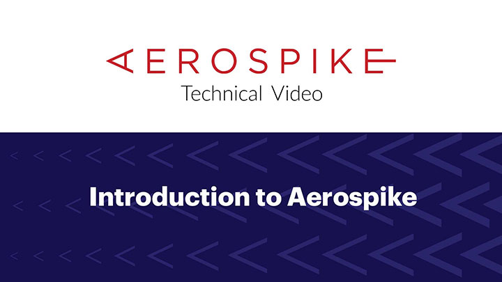 Technical Video: Introduction to Aerospike