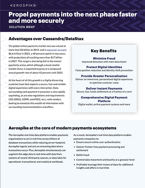 Payments Solution Brief