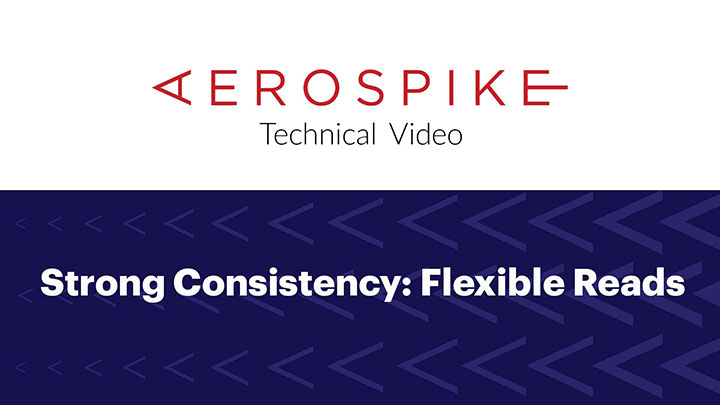 Strong Consistency: Flexible Reads